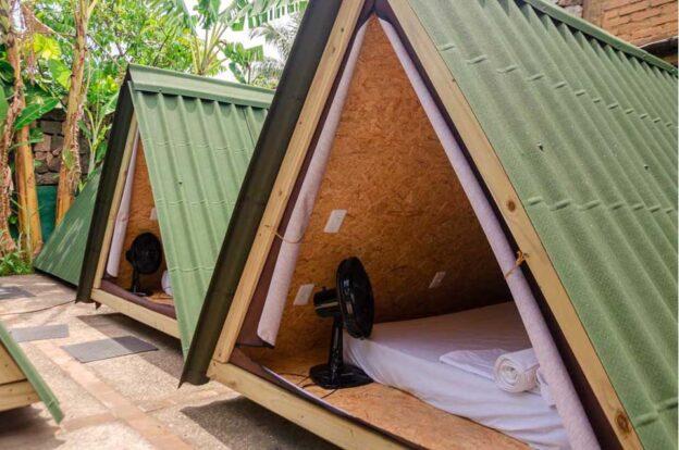 Smart Camps / cabanas para casais - ClanDestino Hostel Ilhabela