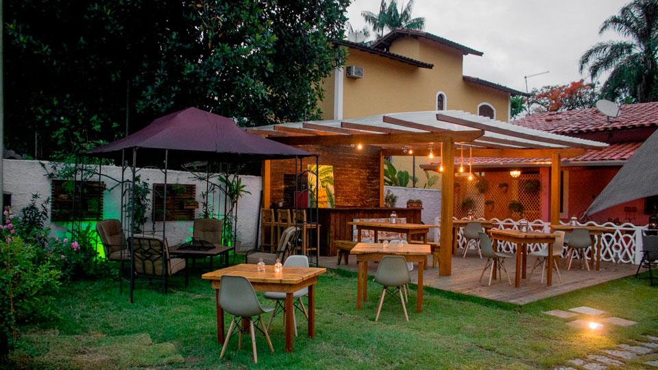 Manacá Hospedaria e Bistrô em Ilhabela - Restaurante