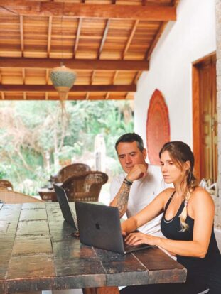 Coworking - Reserva Ilhabela - Hospedagem Sustentável em Ilhabela - Praia da Feiticeira