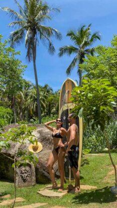 Ducha - Reserva Ilhabela - Hospedagem Sustentável em Ilhabela - Praia da Feiticeira