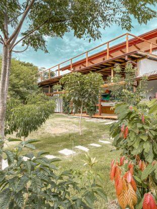 Jardim - Reserva Ilhabela - Hospedagem Sustentável em Ilhabela - Praia da Feiticeira