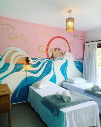 Suíte Solteiros - Reserva Ilhabela - Hospedagem Sustentável em Ilhabela - Praia da Feiticeira