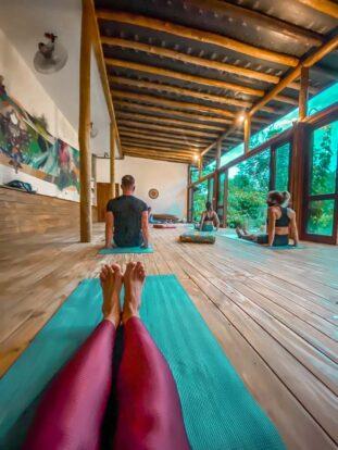 Aulas de Yoga - Reserva Ilhabela - Hospedagem Sustentável em Ilhabela - Praia da Feiticeira