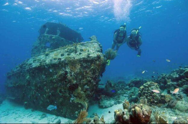 Aquáticos Ilhabela - Mergulho em naufrágios em Ilhabela