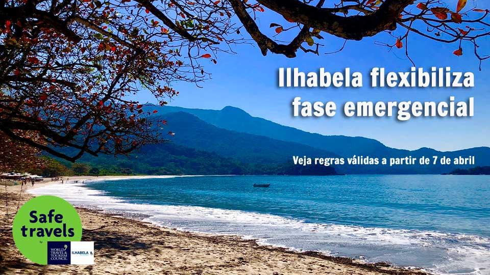 Flexibilização na Fase Emergencial em Ilhabela