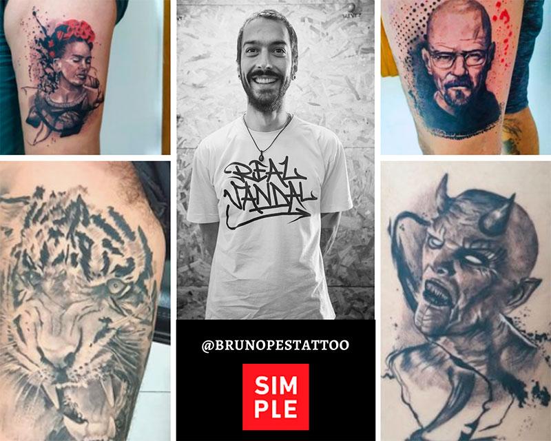 Flash Week Tattoo Ilhabela na Casa Simple - @brunopestattoo