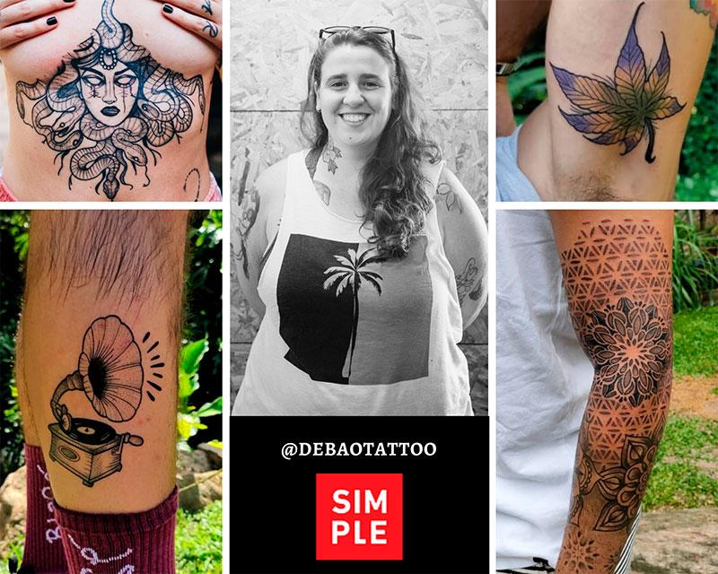 Flash Week Tattoo Ilhabela na Casa Simple - @debaotattoo